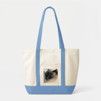 Aloof Siamese Cat Impulse Tote Bag