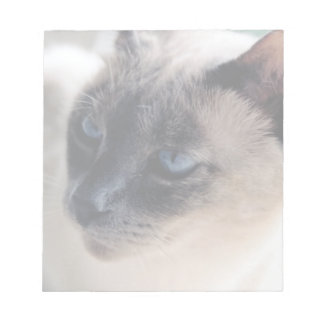 Aloof Siamese Cat Notepad