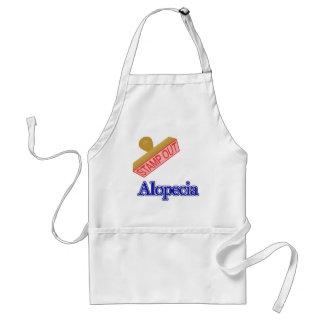 Alopecia Adult Apron