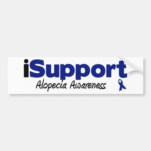 alopecia del iSupport Pegatina Para Auto
