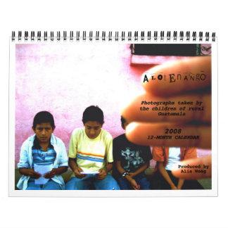Alotenango Wall Calendar