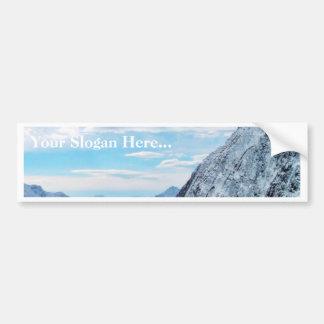 Alp Cabin Bumper Sticker