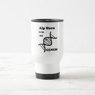 Alp Horn Is In My Genes Travel Mug