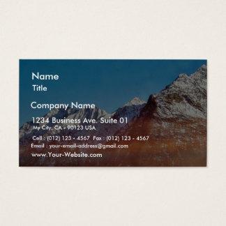 Alp Mountain Business Card