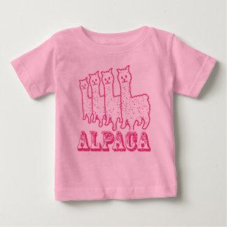 Alpaca 4 Pink Line Baby T-Shirt
