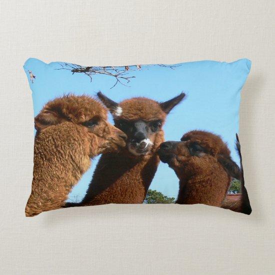 Alpaca Accent Pillow