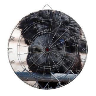 Alpaca adulta negra - pacos del Vicugna Tablero Dardos