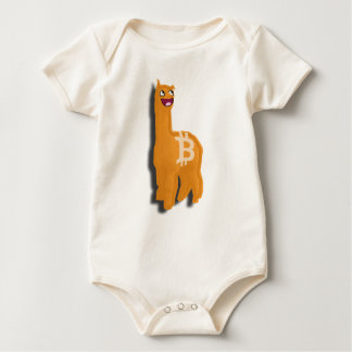 Alpaca amistosa de Bitcoin del consumidor (bebé Mameluco