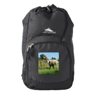 Alpaca And  Cria High Sierra Backpack
