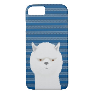 Alpaca Apple iPhone 8/7, Barely There Phone Case
