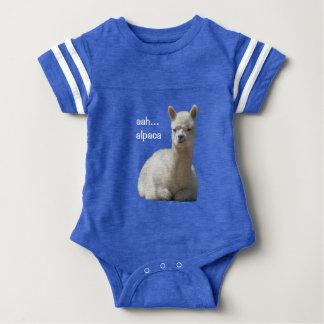 Alpaca Baby Football Bodysuit