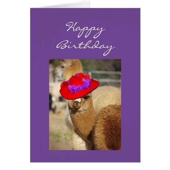 Alpaca Birthday Cards