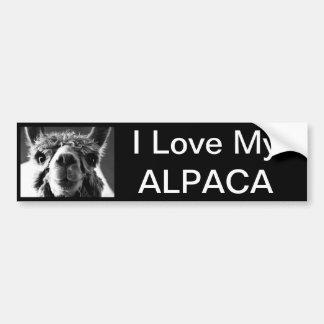 Alpaca Bumper Sticker