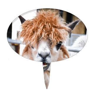 Alpaca Cake Toppers | Zazzle