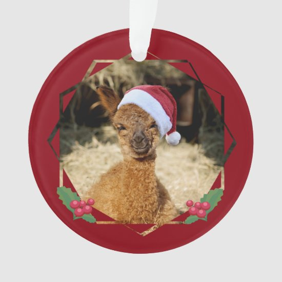 Alpaca Christmas Ornaments