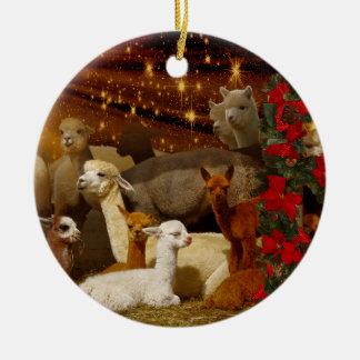 Alpaca Christmas Ornaments