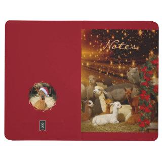 Alpaca Christmas Pocket Journal