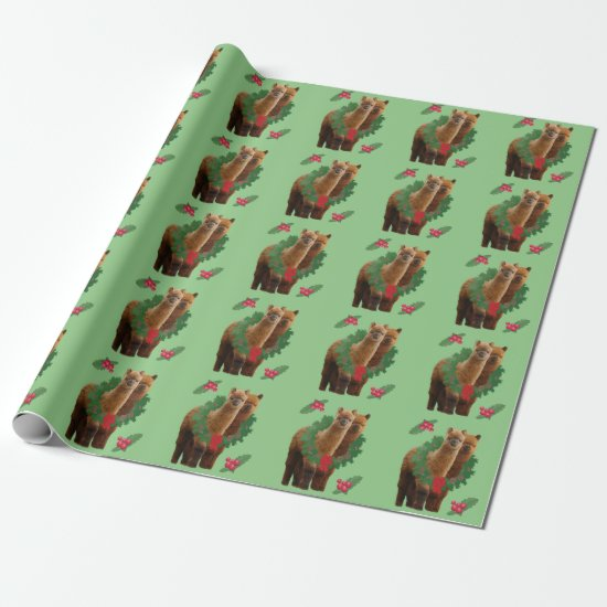 Alpaca Christmas Wrapping Paper