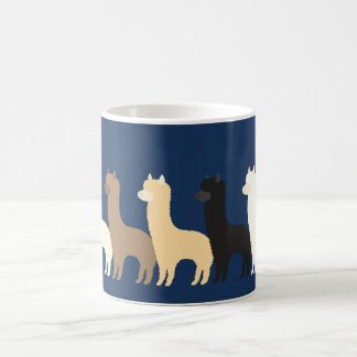Alpaca Classic White Coffee Mug