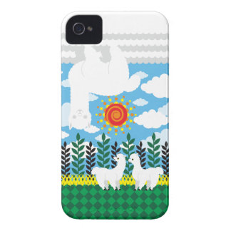Alpaca cloud (Alpaca cloud) Case-Mate iPhone 4 Cases