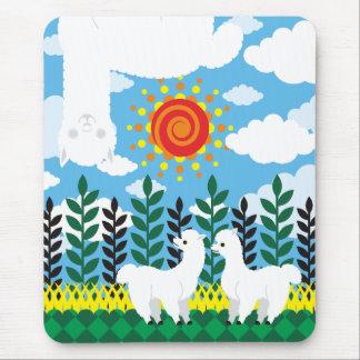 Alpaca cloud (Alpaca cloud) Mouse Pad
