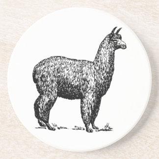 Alpaca Beverage Coasters