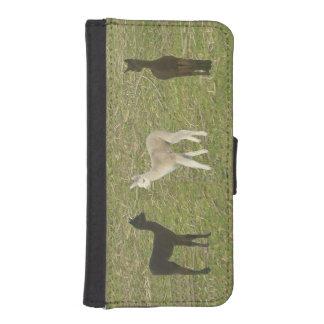 Alpaca Cria Fundas Billetera De iPhone 5