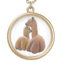 Alpaca & Cria Love Necklace