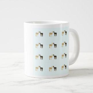 Alpaca Cria Meet 20 Oz Large Ceramic Coffee Mug