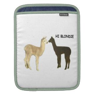 Alpaca Cria Meet Sleeve For iPads