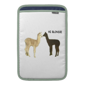 Alpaca Cria Meet Sleeve For MacBook Air