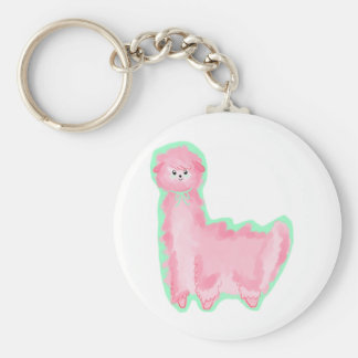 Alpaca de Bubblegum Llavero Personalizado
