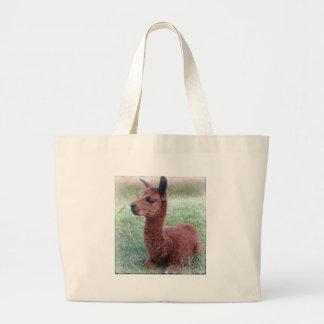 Alpaca de Hannah del bebé Bolsa De Mano