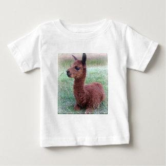 Alpaca de Hannah del bebé Tee Shirt