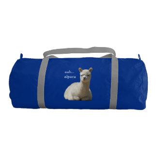 Alpaca Duffle Gym Bag