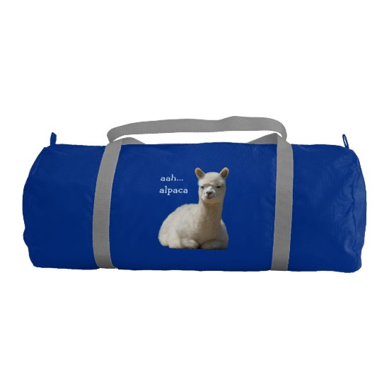 Alpaca Duffle Gym Bag