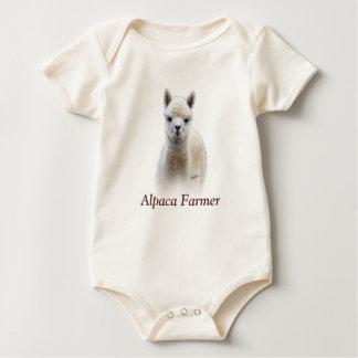 Alpaca Farmer Baby Bodysuit