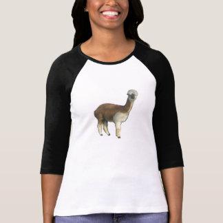 Alpaca femenina t shirts