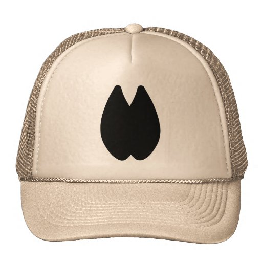 Alpaca Footprint Trucker Hat