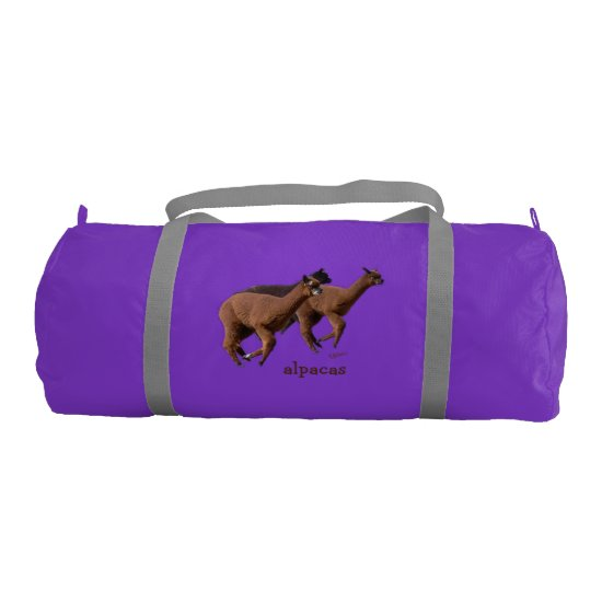 Alpaca Gym Bag