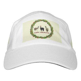 Alpaca Happy Holidays Headsweats Hat