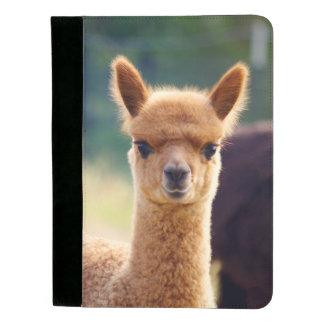Alpaca hermosa Padfolio del bebé