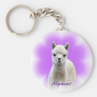 Alpaca Hope Keychain