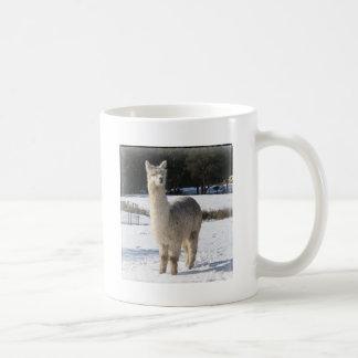 Alpaca In the Snow Coffee Mug