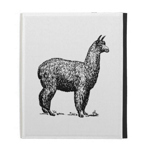 Alpaca iPad Folio Case