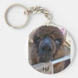 Alpaca Keychain