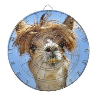 Alpaca loca del pelo