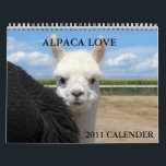 """ALPACA LOVE 2011 CALENDER CALENDAR<br><div class=""""desc"""">ACRES WILD ALPACAS 2011 CALENDER</div>"""