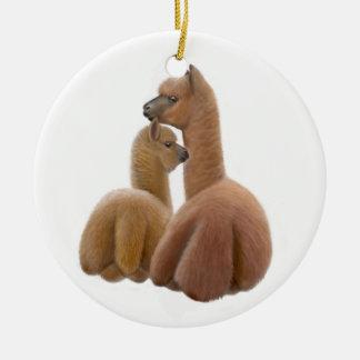 Alpaca Love Ornament