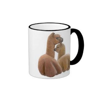 Alpaca Love Ringer Mug
